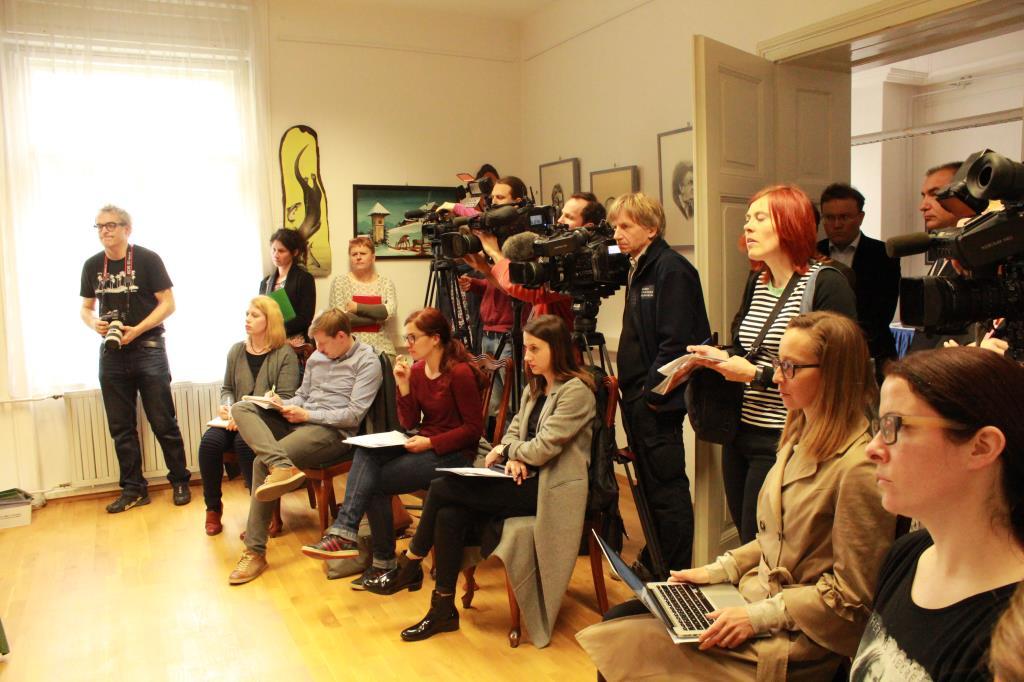 Novinarska konferenca ob javnem podpisu Predloga za vključitev varuha narave v Zakon o ohranjanju narave, Foto Janina Žagar